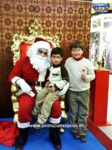 Visita de Papá Noel en Barcelona