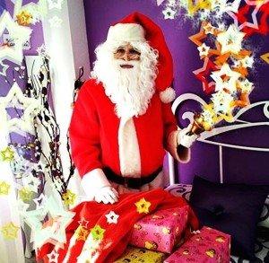 contratar la visita de Papá Noel a domicilio en Barcelona