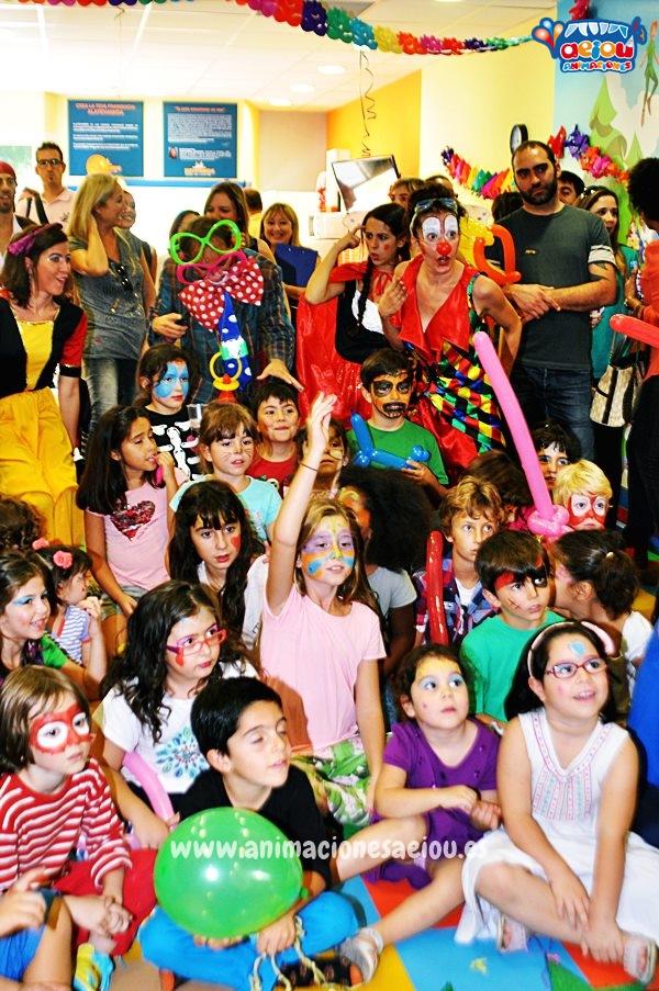 animadores fiestas cumpleaos infantiles barcelona