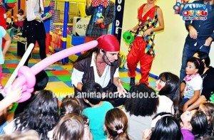 Animadores magos y payasos comuniones Barcelona