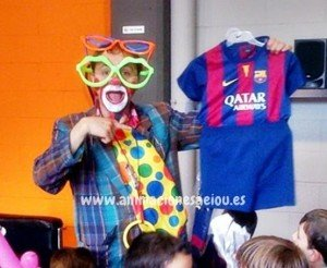 Payasos fiestas infantiles en Barcelona