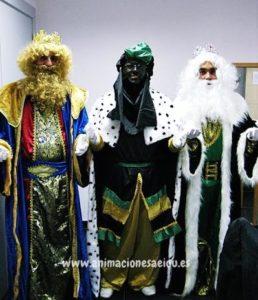 visita de los Reyes Magos Barcelona