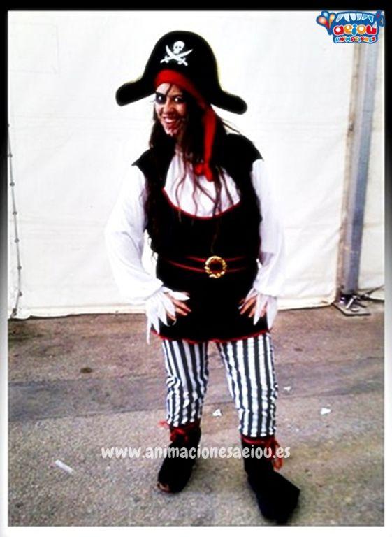 Animaciones para fiestas temáticas de piratas en Barcelona