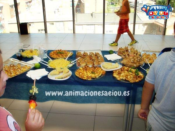 Menú para cumpleaños infantil en Barcelona