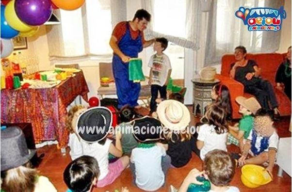 Payasos para fiestas infantiles en Girona