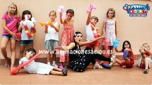 animaciones para fiestas infantiles en Tarragona